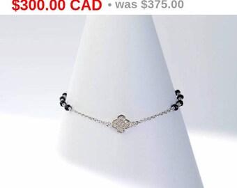 Brilliant Silver Charm Bracelet