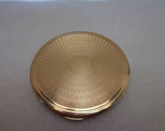 Gold Tone Darling Compact