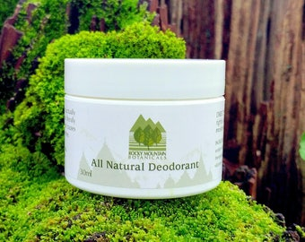 24hr DEODORANT 100% NATURAL - Vegan, Aluminum Free, 24 Hr Protection! Really Works! Best Natural Deodorant