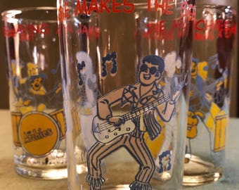 Vintage Archie Juice Glasses from 1971