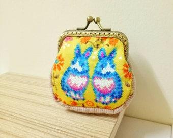 Rabbit Coin purse clasp