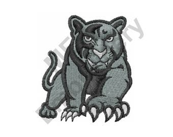 Black Panther - Machine Embroidery Design