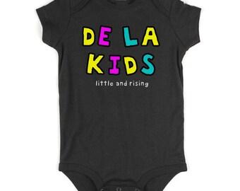 Kids Streetwear De La Kids Little and Rising Infant Onesie Bodysuit