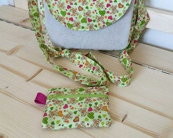 Shoulder bag + child wallet