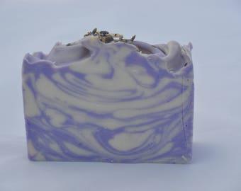 Lavender Soap Vegan Lavender Soap Natural Soap Handmade Soap Cold Process Soap Shea Butter Soap Homemade Soap Soap Lavender Essential Oil