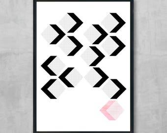 Minimalist modern print