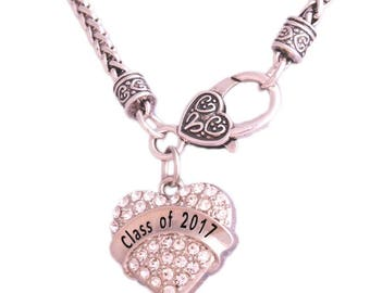 Class of 2017 necklace