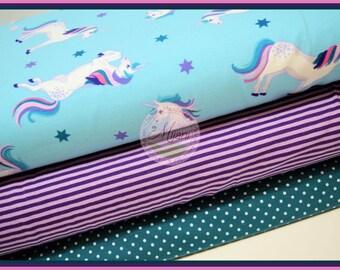 Unicorn Unicorn cloth package Jersey fabric bundle Mijanistoffe