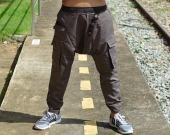 New style, Harem pants, Hippie pants, men, women, handmade unique item