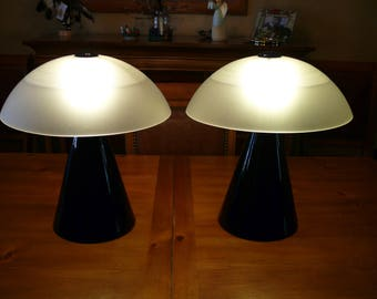 Vintage F. Fabbian Table Lamps  (1 pr.)