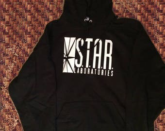 Inspired Star Laboratories Hoodie, The Flash tv series S.T.A.R. LABS hoodie, STAR Labs