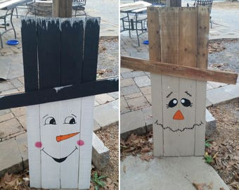 Two-Sided Holiday Yard Stand-Up