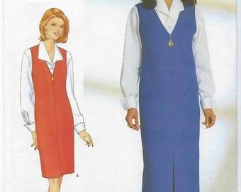 Butterick 5140 - VINTAGE - MISSES Jumper & Blouse / Sizes 6, 8, 10