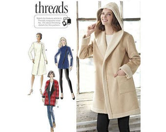 Simplicity 8467 - MISSES Lined Coat or Jacket