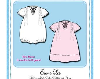 Bonnie Blue Designs 117 - Emma Lee / Sizes 3 mos. to 6 yrs