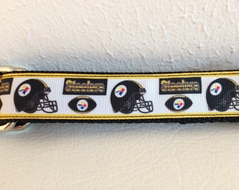 Black and Gold Dog Leash, Steelers Leash, Steelers Dog Leash Leash, Heavy Duty Leash, Dog Leash