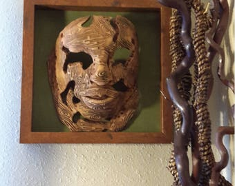 Wood spirit mask