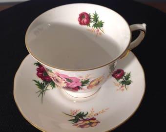 Queen Anne bone china tea cup