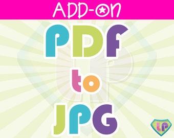 Add-On: Convert PDF to JPG