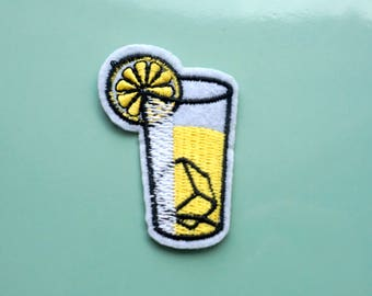 Lemonade | Iron on Patch - Pigeonwishes