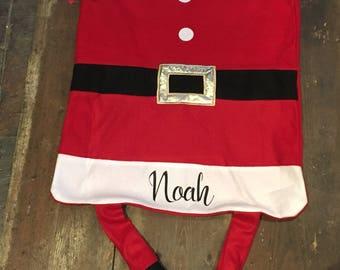 Personalised Santa Present Sack.