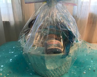 Beach spa basket