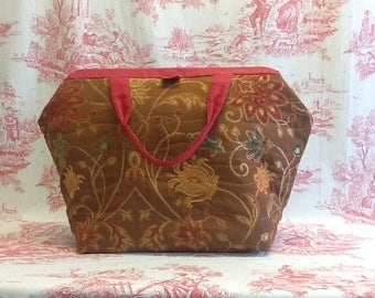 Carpet style Bag, Mary Poppins Bag, Tote Bag,