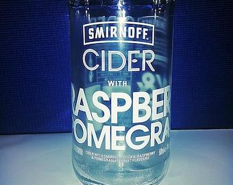 Smirnoff Cider Drinking Glass
