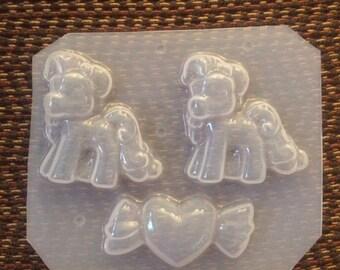 Plastic Molds / Sweet Pony