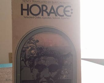 Horace: Selected Odes, Epodes, Satires, Epistles
