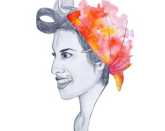 Amy Winehouse Limited Edition Print