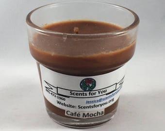 Cafe Mocha Votive Cup Candle