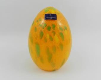 Hand made glass egg Easter Villeroy & Boch