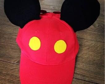 Mickey Ears Hat, Disney Ears, Ears Hat, Mickey Hat