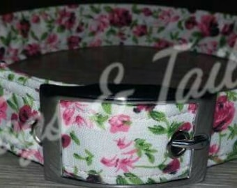 Dog Collar Floral Vintage Adjustable Design