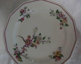 Set of 6 plates BERNARDAUD pattern porcelain of limoges