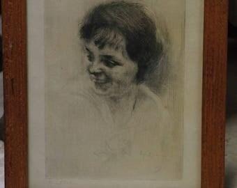 Edgar CHAHINE lithograph