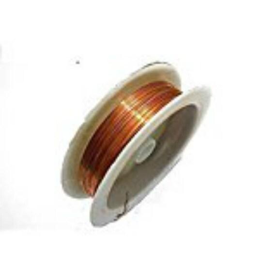 Goelx Antik Metallic Kupfer Draht für Perlen und Schmuck