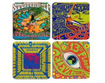 Jefferson Airplane Psychedelic 1960s Rock And Roll Concert