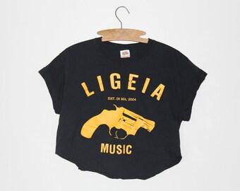 Ligeia Music Crop Top