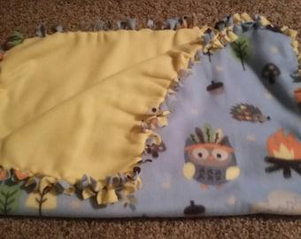 Little Boy Baby Blanket