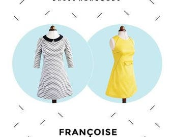 Tilly & the Buttons 'Francoise' Sewing Pattern UK 6-20 US 23-16 For Beginners/Improvers