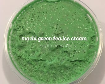 Mochi Ice Cream Fluffy Strechy Crunchy Slime Scented 8oz