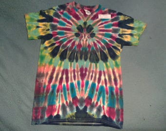 """tie dye t shirt adult small""""orchid"""""""