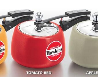 Ceramic-Coated Hawkins Contura Pressure Cooker