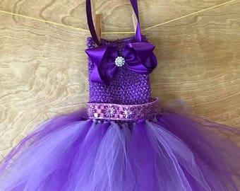 Girls Purple Princess Tutu