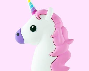 Unicorn Emoji Charger!