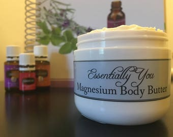 Whipped Cocoa Body Butter with Magnesium Oil