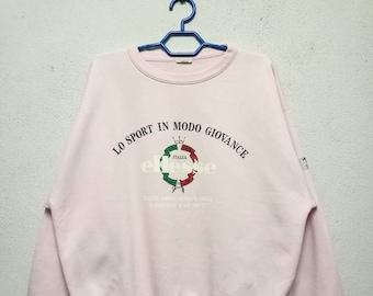 Vintage Ellesse Big Logo Sweater Sweatshirt
