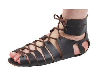 Roman Sandals Leather Sandals Gladiator Sandals Roman Sandals Kit